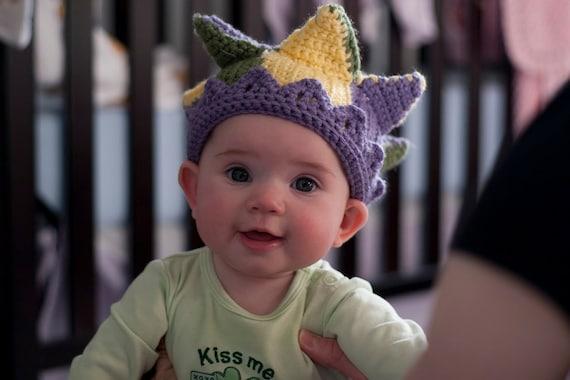 Items similar to Baby Jester Hat Crochet Pattern on Etsy