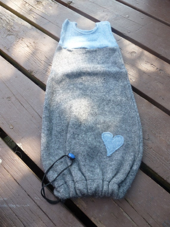 100% Wool SleepSack, Newborn/Small size