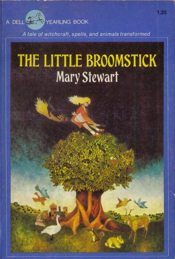 The Little Broomstick By Mary Stewart By Booksforbreakfast