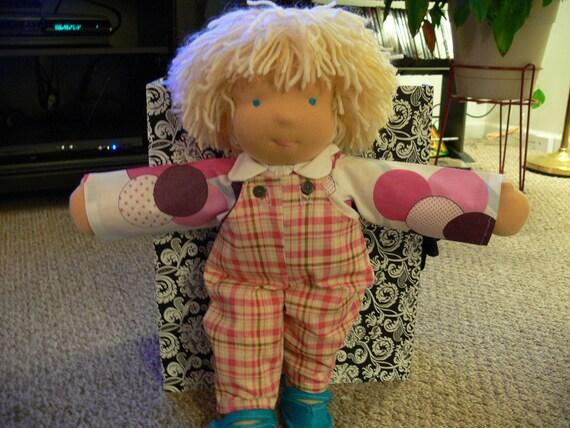 """Waldorf boy doll """"17 in"""
