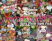 Return to Hogwarts - Harry Potter Digital Scrapbooking Superpack