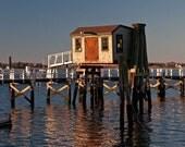 Newport Harbor Early Morning Winter, 8 x 10 Photo