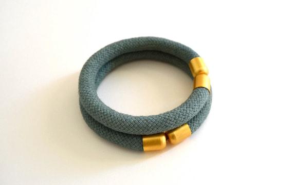 rope bracelet   ( l o u a n n e )  two pieces