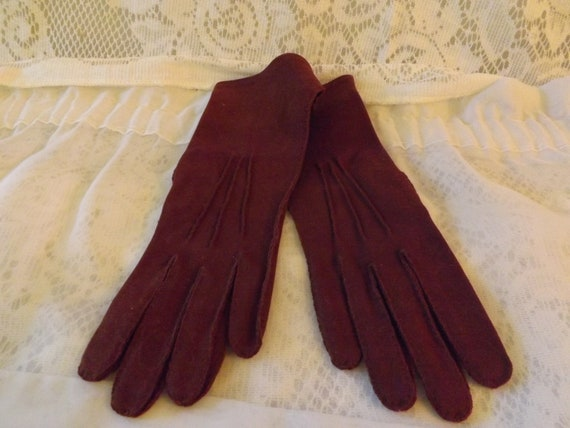 "60's Kayser "" Marvelour"" Women's Dress Gloves"