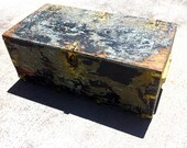 Vintage / Antique Wood Trunk