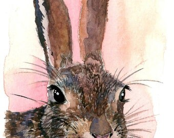 ACEO Limited Edition 3/25-A rabbit