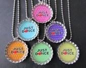 12 Just Dance  Bottle Cap Party favors / June 4th