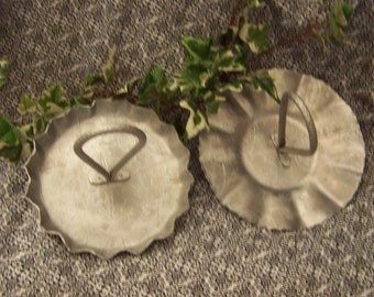 Pressed Aluminum Candy Dishes Hammered Aluminum Serving Dishes