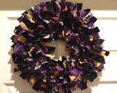 Baltimore Ravens Rag Wreath