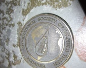 Belt Buckle Vintage International Society of Oilfield Trash Member