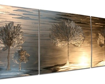 Metal wall art curated by fresh design blog on etsy for Decor mural metal