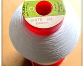 5000M Coats Aptan 80 Polyester Overlocker Thread - White