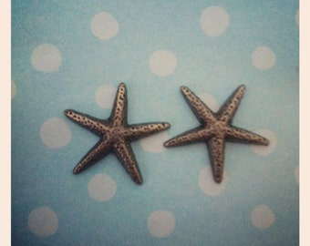 starfish earrings perfect for bridesmaids and beach weddings