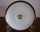 Noritake Goldston saucer for tea cup bone china discontiued retired pattern mid century modern