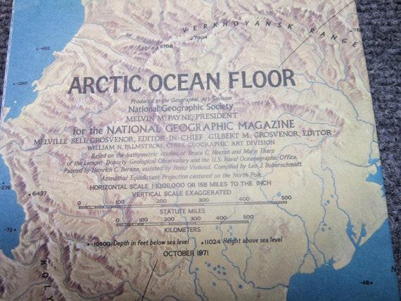 Arctic Ocean Floor Map Arctic Ocean Floor...