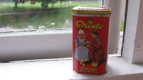 Droste's Swiss Cocoa Tin, Container, 1960s - Hot Chocolate