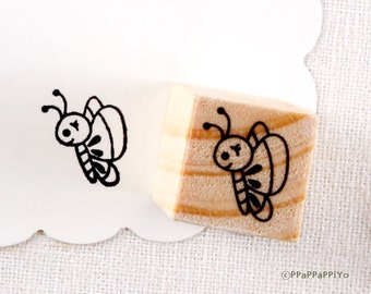 Butterfly Small Rubber Stamp
