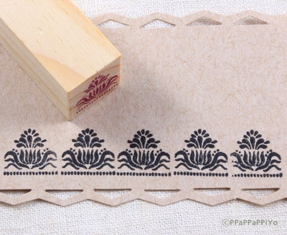Pattern 02 Small Rubber Stamp