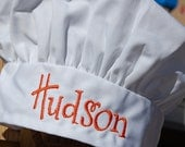 Personalized Toddler/Child Chef Hat