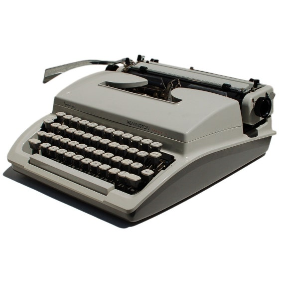 Revitalized Remington Mark II Typewriter Professionally Refurbished Portable & Two New Ribbons