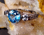 Sterling Silver w/Blue Topaz Ring