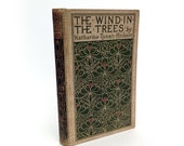 Antique poetry book, The WInd in the Trees by Katharine Tynan Hinkson, 1898 - VintageCuriosityShop