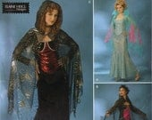 Simplicity Costume Sewing Pattern 0511 (aka 4956) - Misses' Vampiress Costumes (6-12)