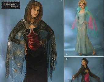 Simplicity Costume Sewing Pattern 0511 (aka 4956) - Misses' Vampiress Costumes (6-12)