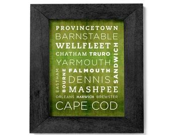 Cape Cod Poster - 11x14