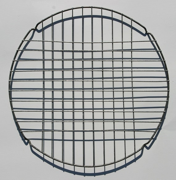 Reserved/ Canada    Vintage French Wire Ware Cooling Rack Bakery Cake Rack for quiches cupcakes pastrys props etc.