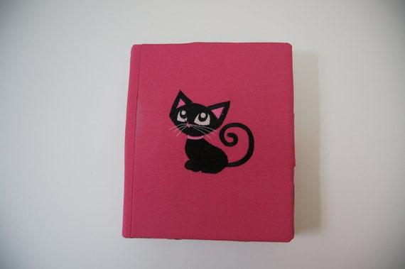 embroidered iPad hard case with stand - fits iPad1, iPad2 and iPad3