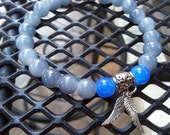 Weeping Angels Doctor Who Inspired Stretch Beaded Bracelet