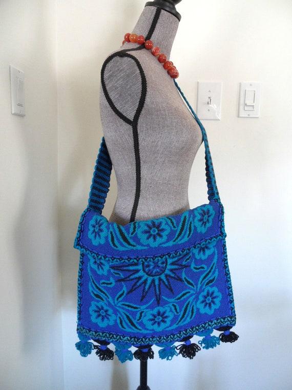 Vintage Oversize Boho Fringe Tassel Bag Purse