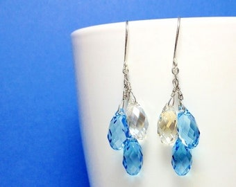 Beautiful Handmade Swarovski Crystal Drops