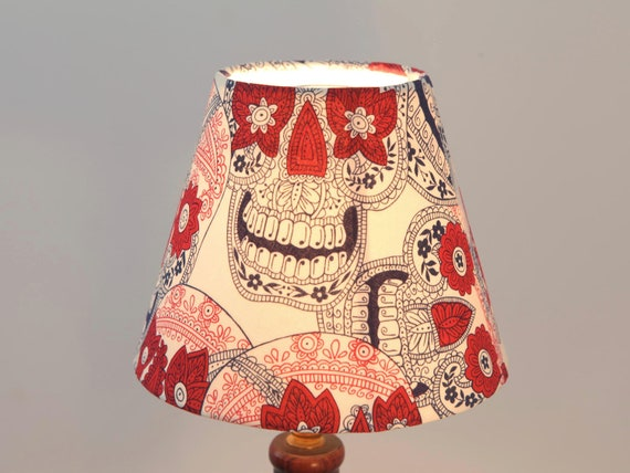 Skull Lamp Shade Mexican Ceiling or Standing Lamp - New (SAMPLE)