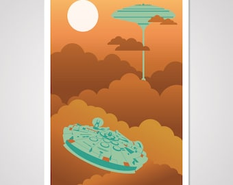 Cloud City - 12x18 Art Print