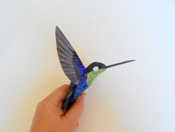 how to make a paper mache bird