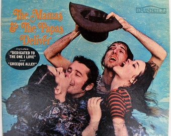 The Mamas And The Papas - Deliver (DS 50014) 1967