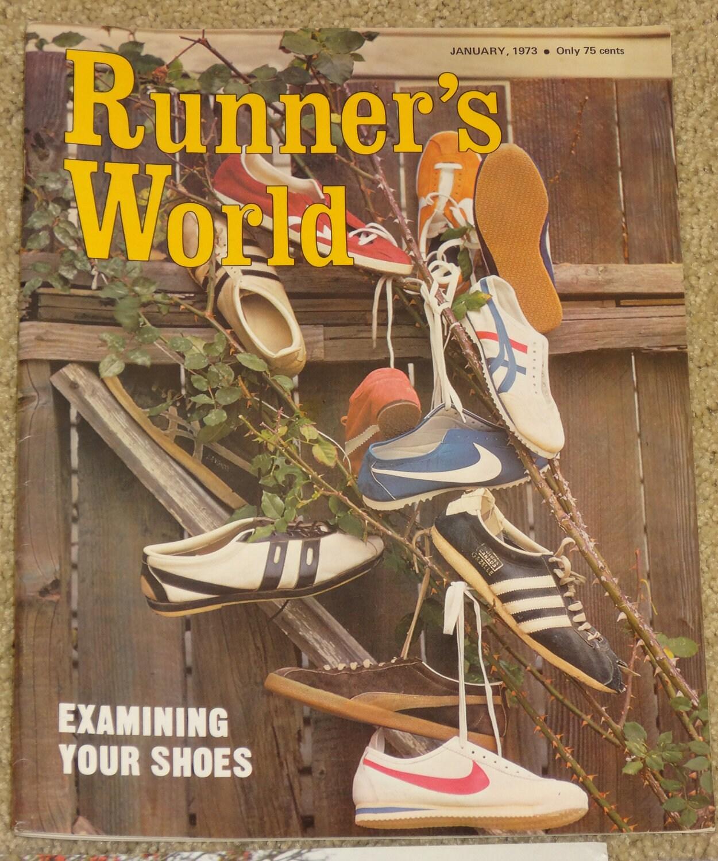 The Wonderful World Of Nik E April 2009: Vintage 1968 1981 Runner's World Magazine 33 Issues Nike