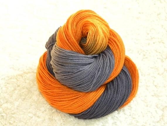 Hand dyed yarn, Fingering weight, 100% Superwash Merino Wool, 400 yards/3.5 oz- 'Janina'