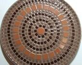 "12"" Decorative mosaic plate"