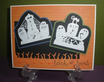Tombstone, RIP Halloween Card