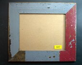 8x10 Picture Frame Made From Reclaimed Wood and Glass 107