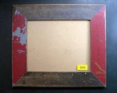 8x10 Picture Frame Made From Reclaimed Wood and Glass 108