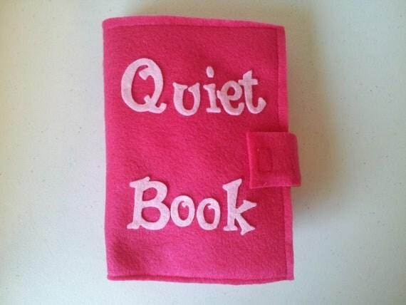 Quiet Book/ Busy Book/ Activity Book