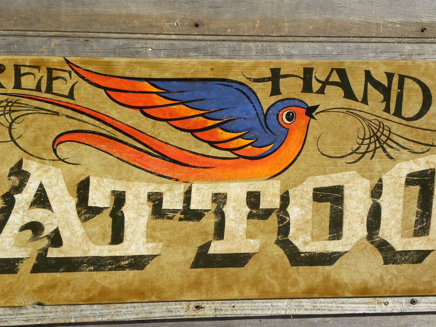 Tattoo Sign Hand Painted Original Art Wooden Sign Vintage. Leo Signs Of Stroke. Slate House Signs. Autonomic Neuropathy Signs. Bunt Signs. Candidiasis Signs. Spaceship Signs Of Stroke. Atherosclerosis Progression Signs. Hospital Department Signs