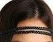 Double Braid Synthetic Hair Headband