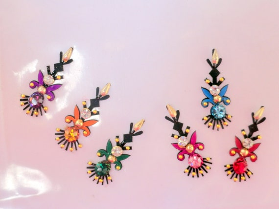 Multi Color Traditional Indian Bindis