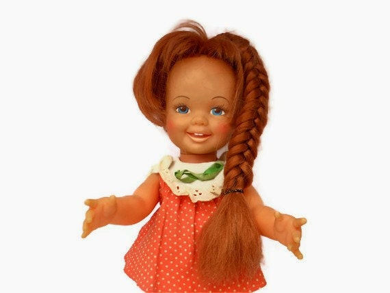 Growing Hair Doll - Cinnamon - Ideal Toy Company 1971