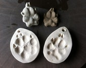 Mold Kit for Pet Footprint Ornaments or Fridge Magnets and Sprig Molds which can be used to create custom pottery now or in the future